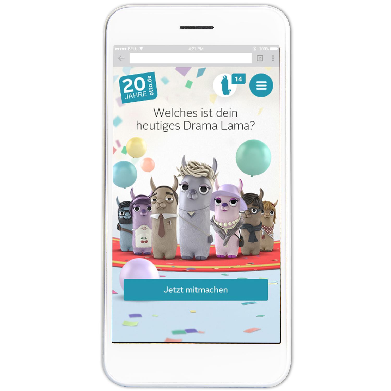 20 Jahre OTTO / game app drama lama