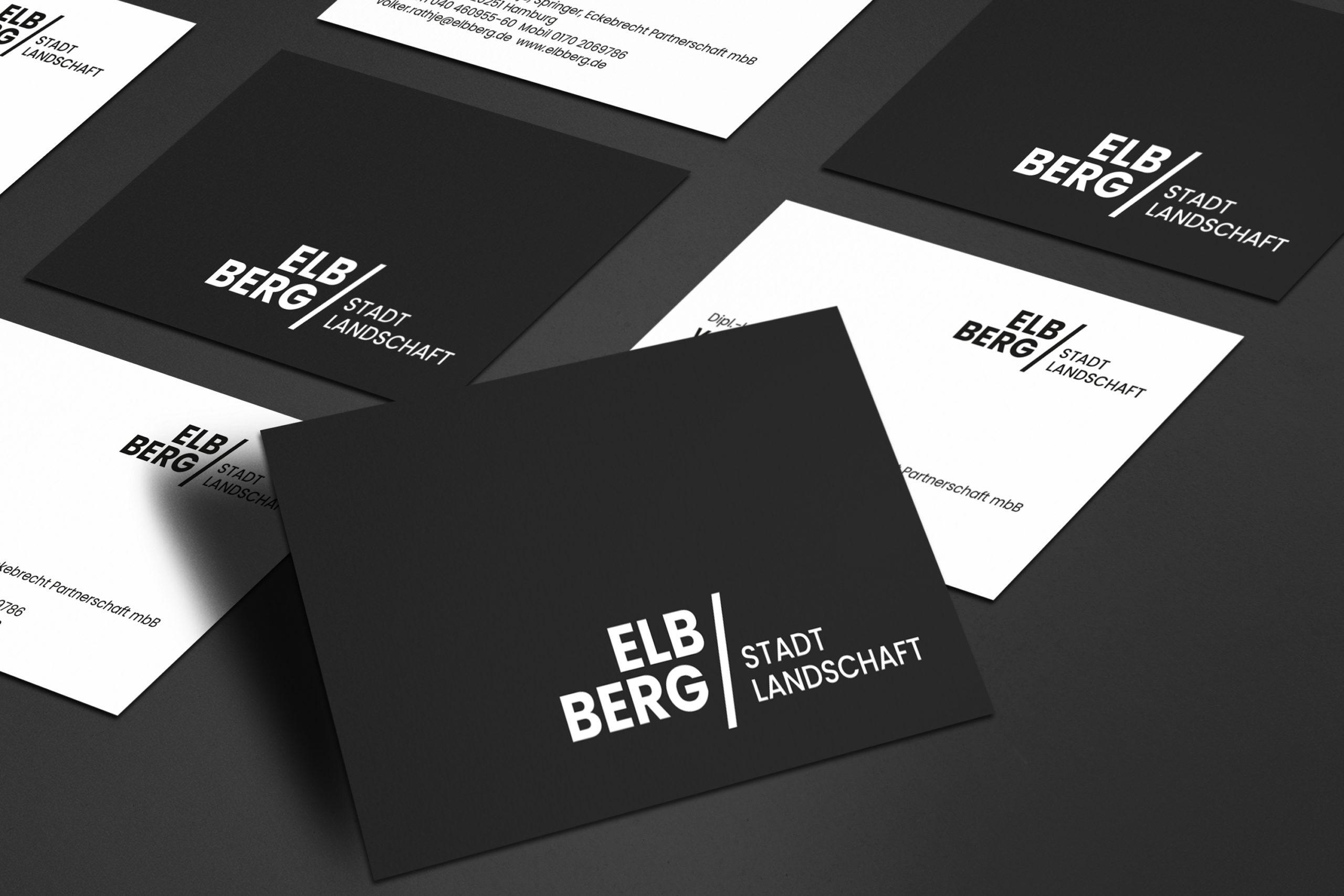 ELBBERG Stadtlandschaft l Stadt- und Landschaftsplanung l CI/Logo Design