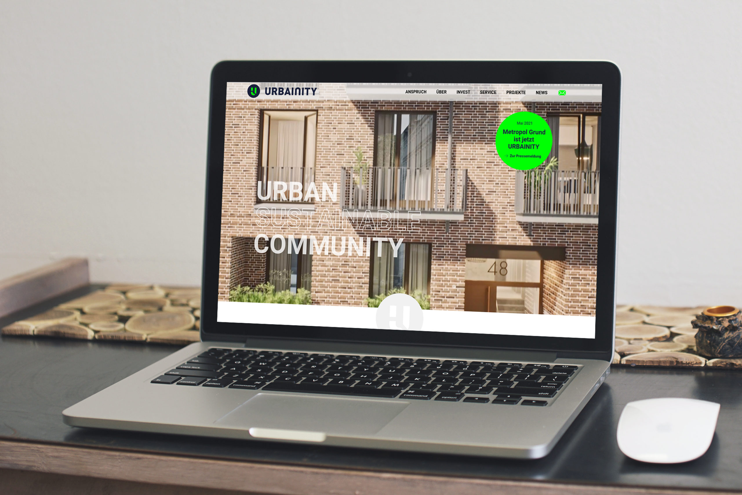 URBAINITY / Responsive Webdesign