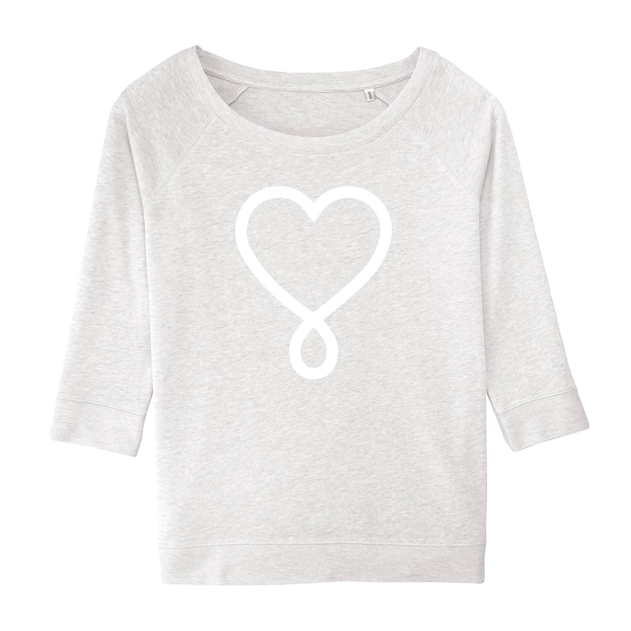 Erdenkind / LOVE Sweater - nachhaltige Yoga Bekleidung