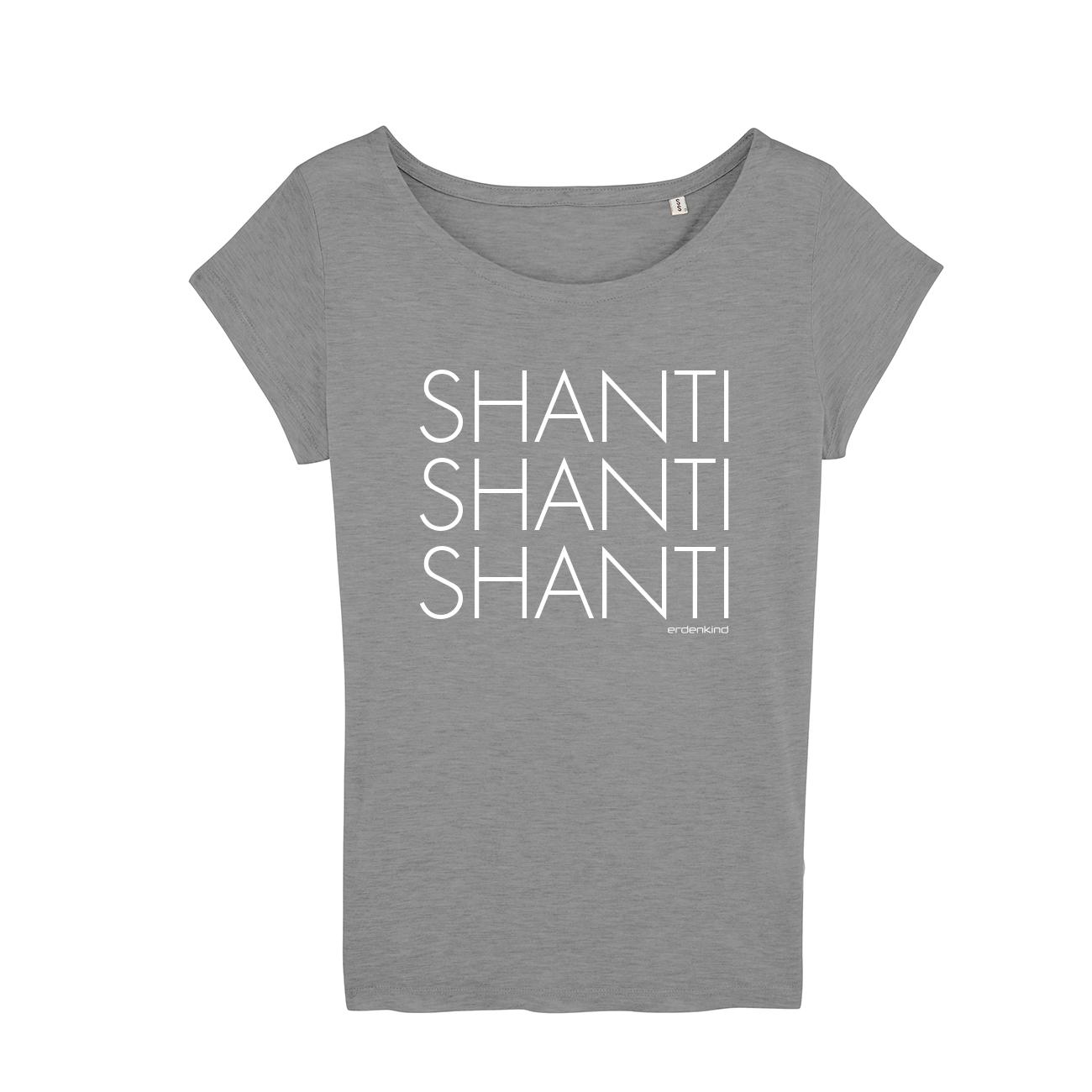 Erdenkind / SHANTI / T-Shirt - nachhaltige Yoga Bekleidung
