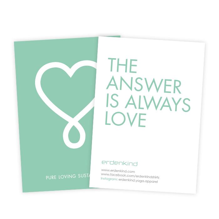 Erdenkind / The answer is always love