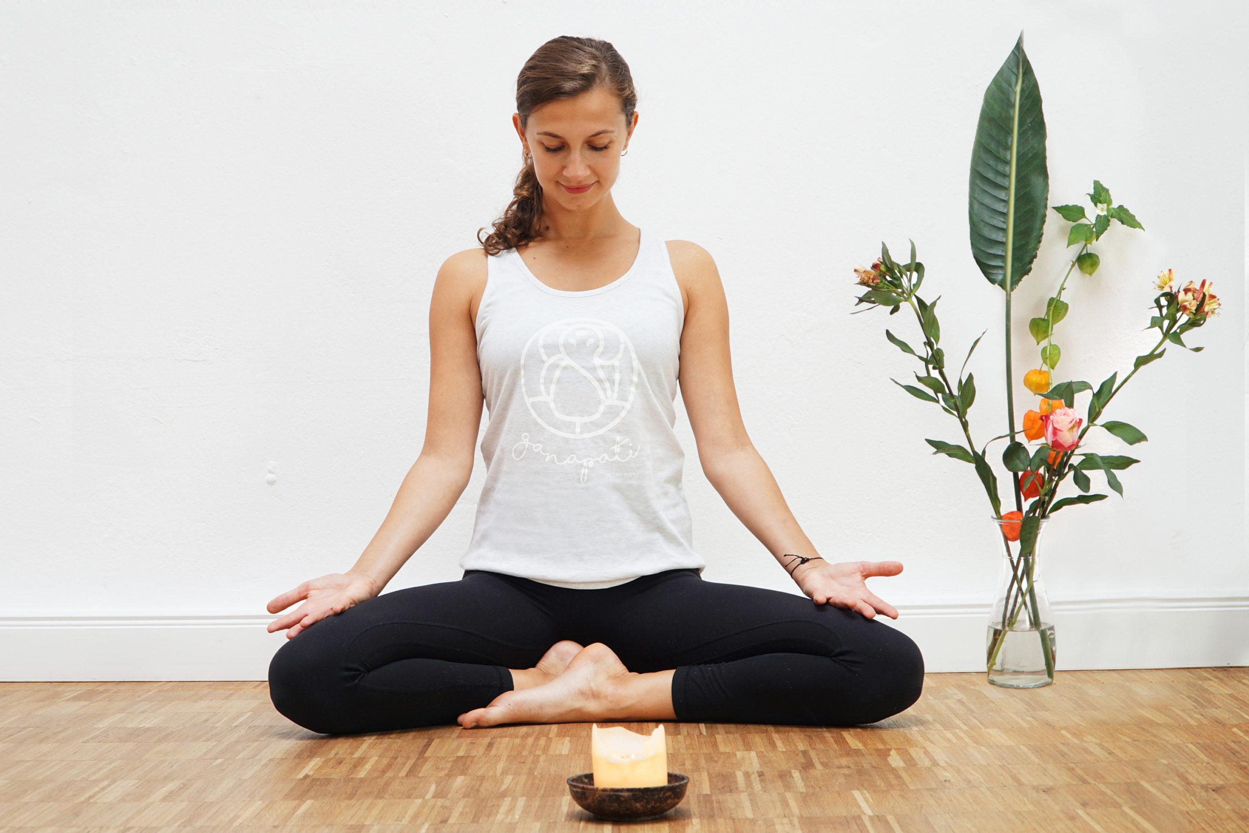Erdenkind / nachhaltige Yogabekleidung / Ganeshs Tank Top