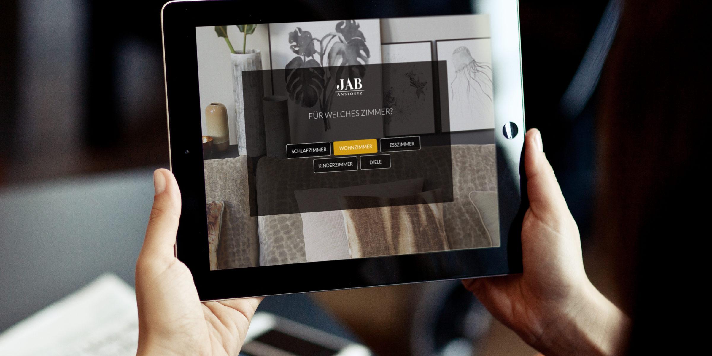 JAB Anstoetz / Apps design