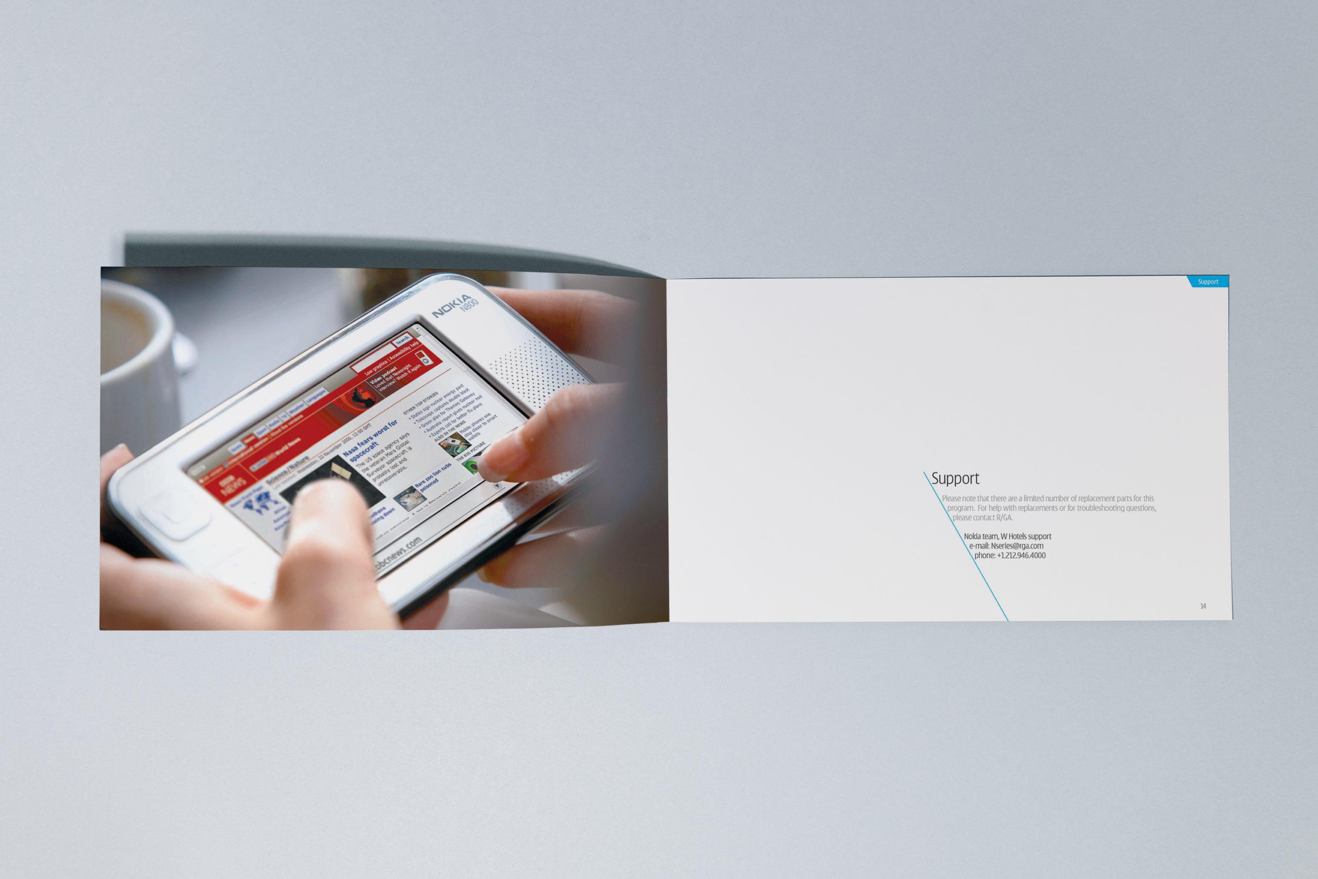 Nokia sales booklet