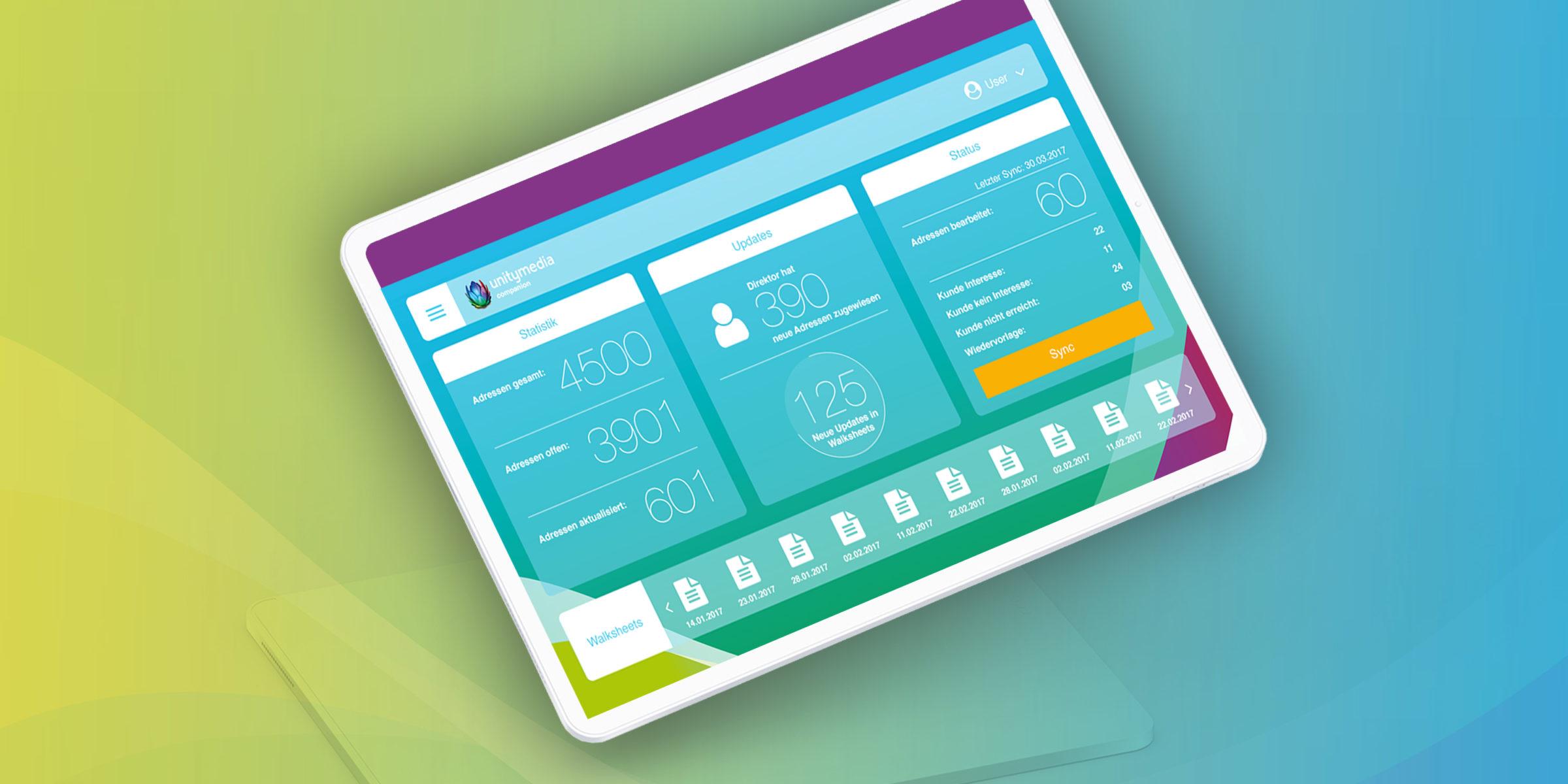 UNITY App Design